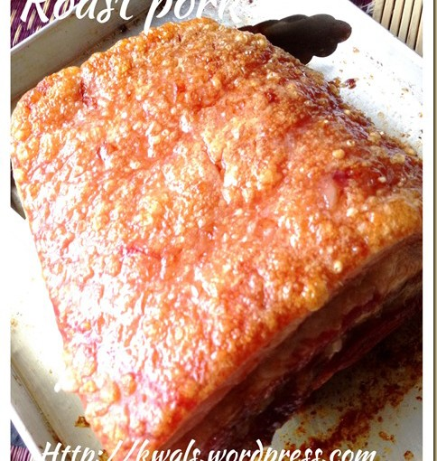 Crispy Roast Pork Or Sio Bak (脆皮烧肉) 50