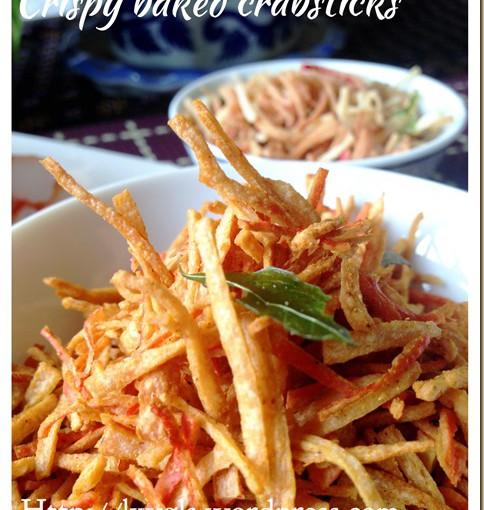 Crispy Crabstick Snack (酥脆蟹肉小吃) 24