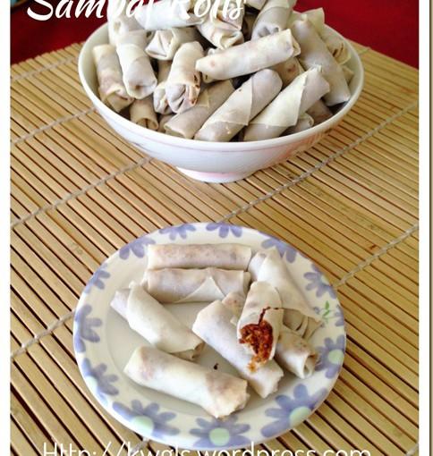 Shrimp Floss Rolls aka Sambal Udang Kering Mini Rolls (虾米卷) 27