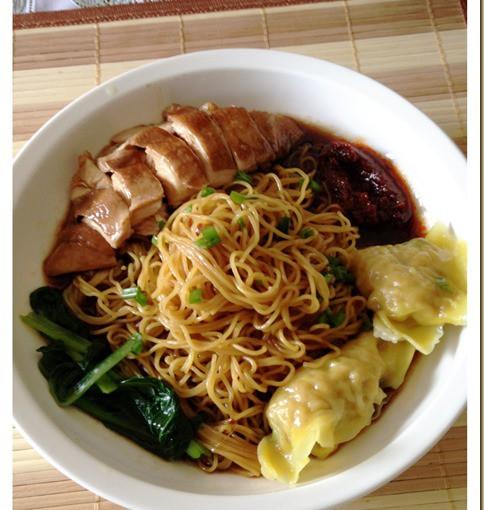Wanton noodles (云吞面) 27