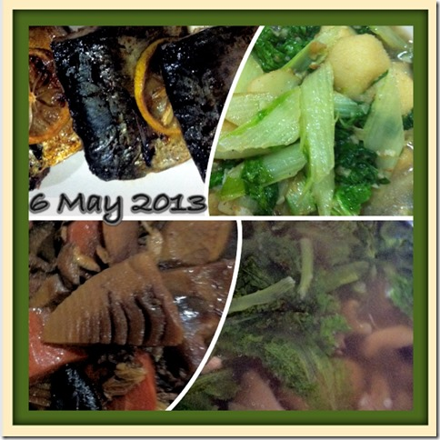 What I cooked today (家常便饭系列) –6-5-2013 2