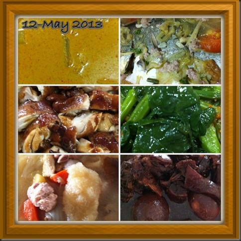 What I cooked today (家常便饭系列)- 12-5-2013 2