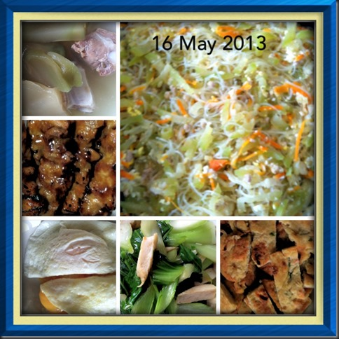 What I cooked today (家常便饭系列)- 16-5-2013 3