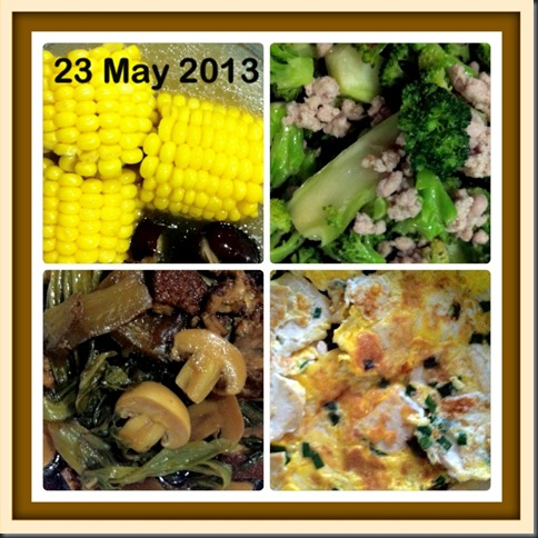 What I cooked today (家常便饭系列)- 23-5-2013 3