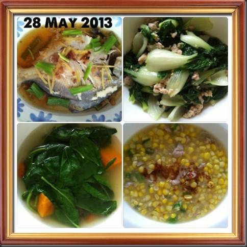 What I cooked today (家常便饭系列)- 28-5-2013 3