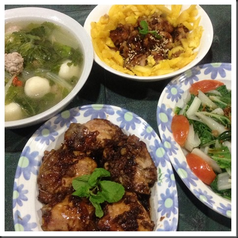 What I cooked today (家常便饭系列)- 31-7-2013 12