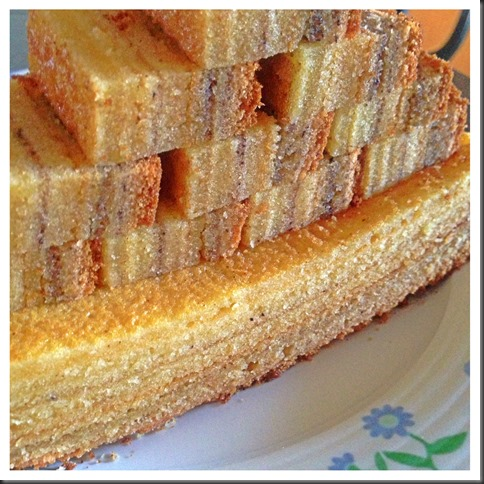 One Number Ratio Baking Adventures - Layered Pound Cake ……… 12