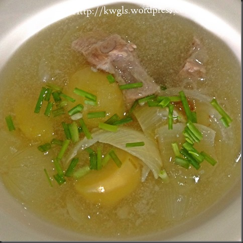 Nostalgic Soup Than Can't Erase From My Mind–Chinese Style Potatoes Soup 37