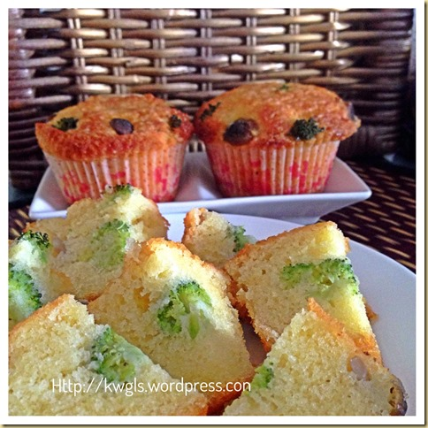 Healthy Vegetables Muffins (健康蔬菜小松饼 (素)) 24