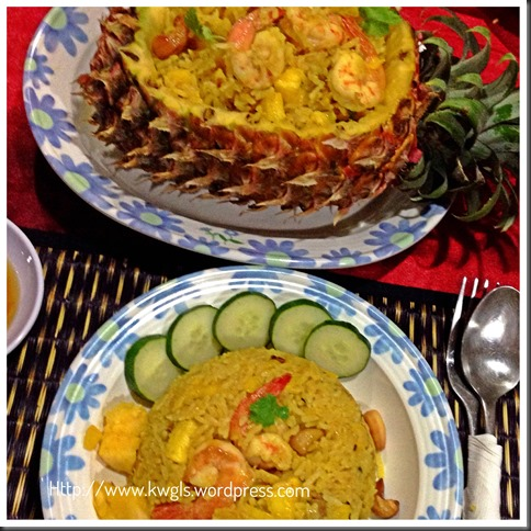 Fish Sauce,Turmeric, Pineapples Make Khao Phat Sapparot Unique… Thai Pineapple Fried Rice….(泰式凤梨炒饭) 48
