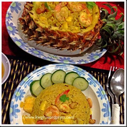 Fish Sauce,Turmeric, Pineapples Make Khao Phat Sapparot Unique… Thai Pineapple Fried Rice….(泰式凤梨炒饭) 48
