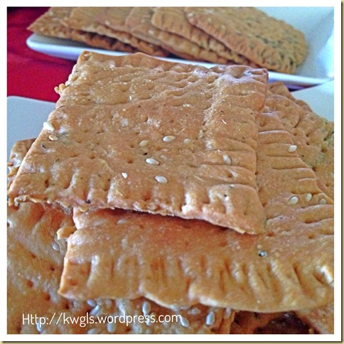 It Is Fun To Have Some Home Made Saltine Crackers–Oregano Sesame Soda Crackers 36