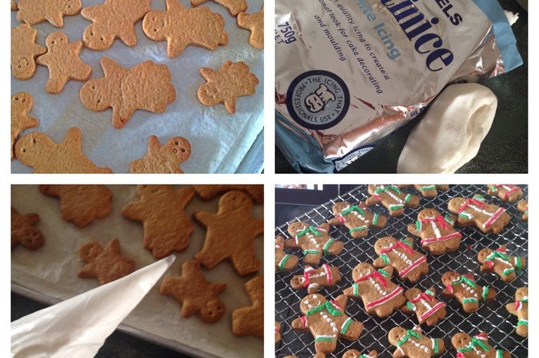 Christmas 2013 Is Approaching……. Gingerbread Man Biscuits 32