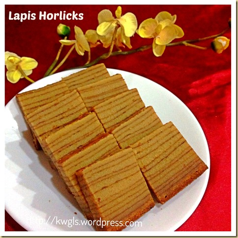 Not A Lapis Legit But A Rich Dense Lapis–Lapis Horlicks (Horlicks Layered Cake) 40