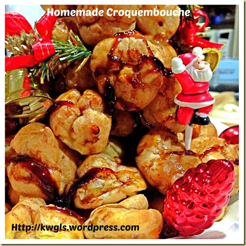 Another Profiteroles Bake - Christmas Croquembouche (圣诞泡芙塔) 36