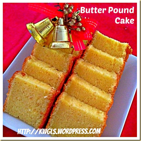 Back To Basics–Modified Traditional Butter Pound Cake 40