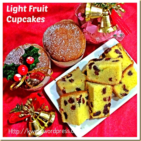Simple Light Rummy Fruit Cupcakes… 32