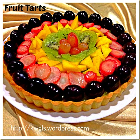 A Light and Fruity Dessert For Christmas – Simple Fruit Tart (水果挞) 44
