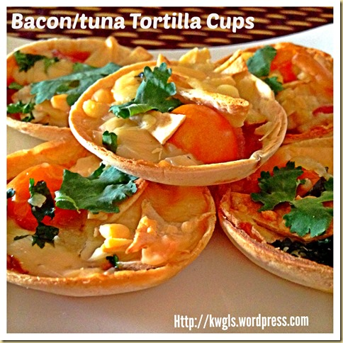 Need To Go To A Party? Try Preparing This Party Snack : Bacon/Tuna Tortilla Cups and Pizza Snack 55