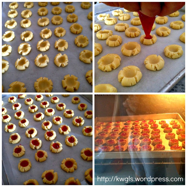 I Like My Cookies To Look Like Flowers During Chinese New Year–Plum Blossom Cookies (梅花饼) 94