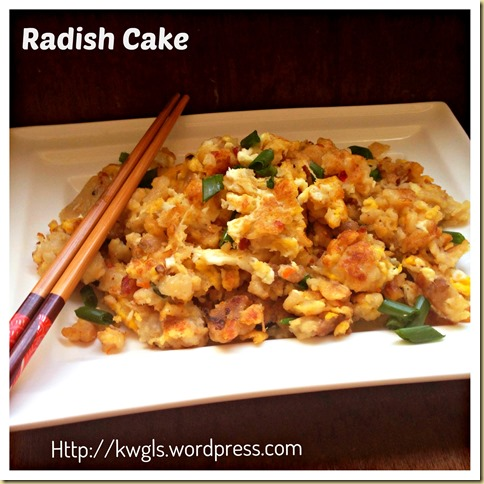 It Is Better To Be Late Than Never–Radish/Turnip/Carrot/Daikon Cake (腊味萝卜糕) 46