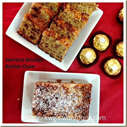 Rich Man's Butter Cake?–Ferrero Rocher Butter Cake or Hazelnut Butter Cake or Oreo Butter Cake (金莎牛油蛋糕) 33