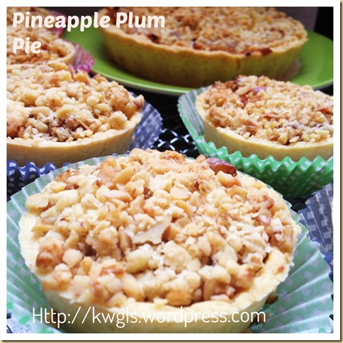 Some Tangy Pie For You?– Pineapple Plum Pie (凤梨李子派) 44