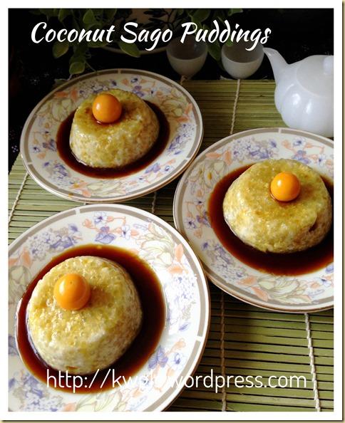 Coconut Sago Puddings (椰香西米布丁) 32