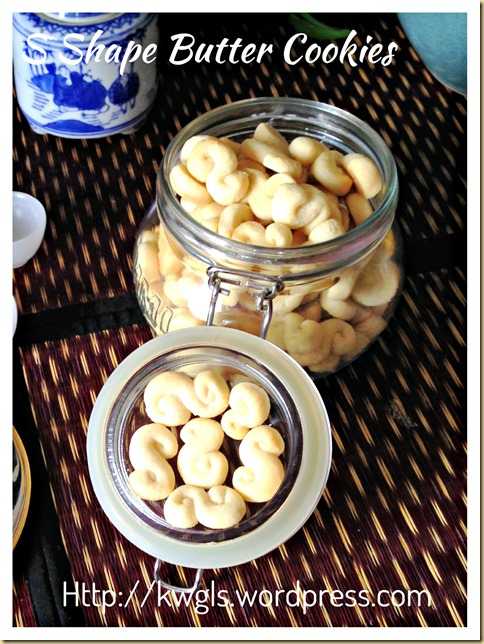 My Childhood Butter Cookies–S Shape Butter Cookies (Kuih S) 32