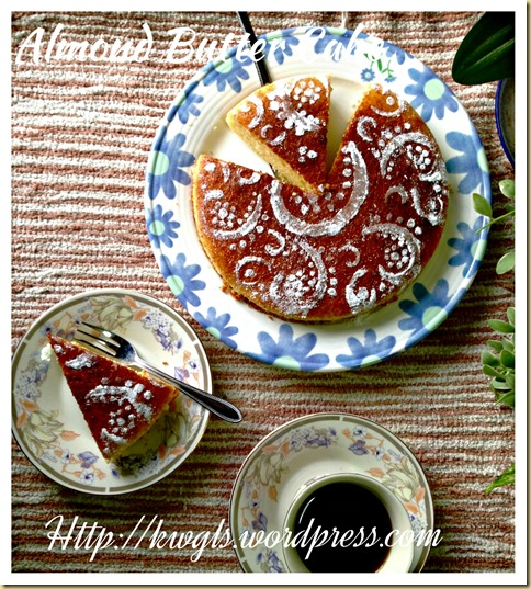 Simple And Humble But Aromatic And Tasty–Almond Butter Cake (杏仁牛油蛋糕) 33