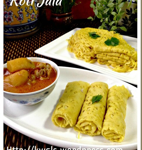Nested Your Bread?Laced Your Pancake?  Roti Jala (网面薄煎饼) 34