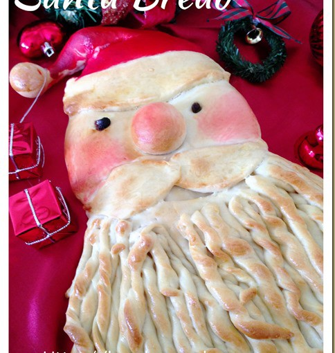 I Failed To Do Proper Make Up For My Santa–Santa Bread (圣诞老人面包) 21