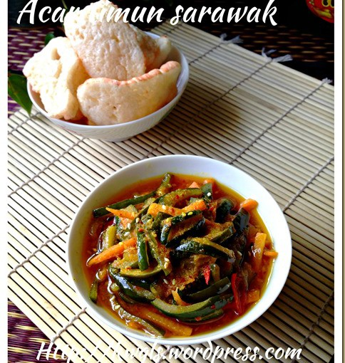 Sarawak Pickled Cucumber - Acar Timum Sarawak 36