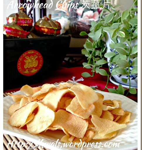 "Asian ""Potato"" Chips–Arrowhead Chips (香脆慈姑片,茨菇片) 30"