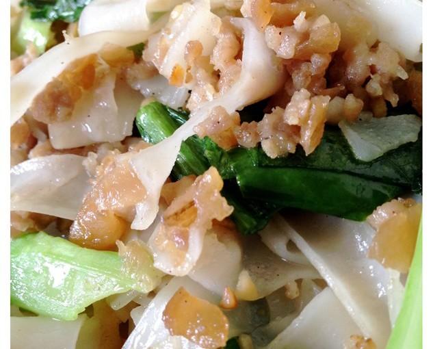 Simplicity Is The Best–Teochew Kailan Cai Poh Fried Kway Tiao (潮汕芥蓝菜脯炒粿条) 7