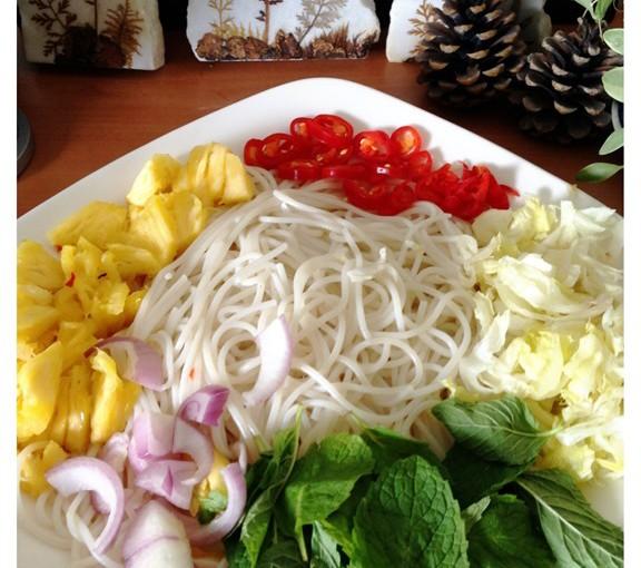 Siamese Laksa (Laksa Thai, Laksa Siam or 暹罗辣沙) 6