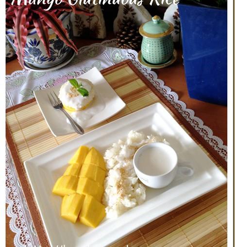 Thai Mango Glutinous Rice Dessert (Khao Niaow Ma Muang, 泰国芒果糯米饭) 29