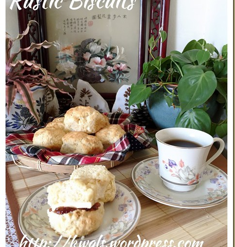 """""""No forks, No rolling pin, No biscuit cutters but just two well practised hands?"""" American Style Biscuits (美国饼干) 28"""