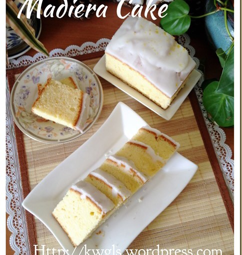 A Healthier Traditional Butter Cake–Madeira Cake (马德拉牛油蛋糕) 33