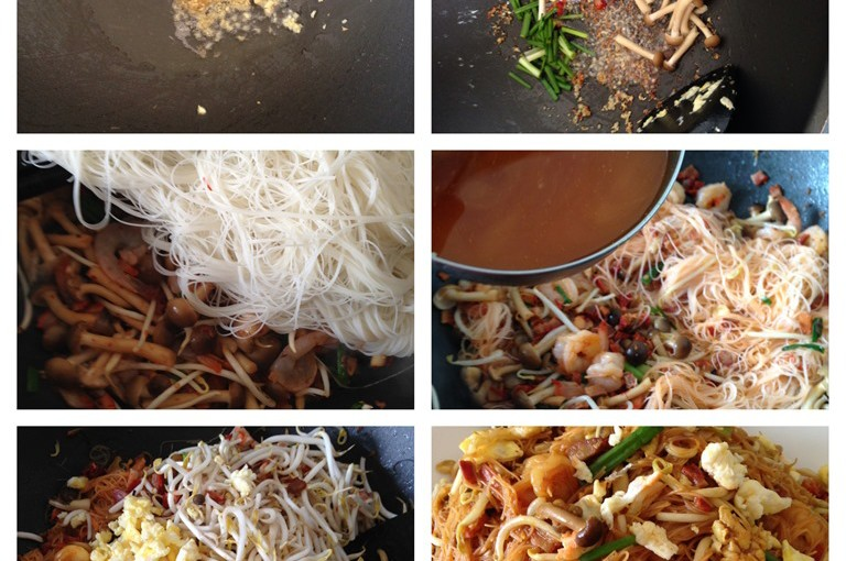 Singaporean Fried Rice Vermicelli? Xing Zhou Fried Bee Hoon or 星洲炒米粉 43