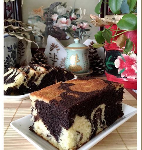 Classic Marble Cake (古早味云石蛋糕) 34