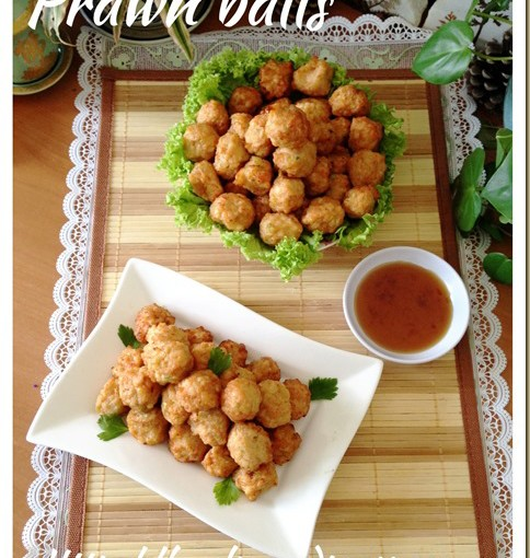 Deep Fried Prawn Balls (干炸虾枣) 31