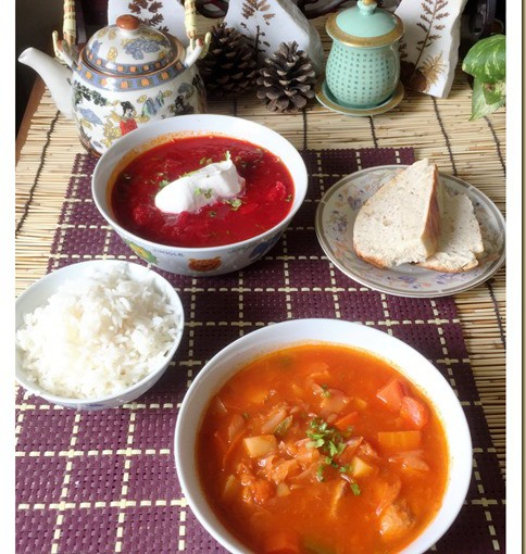 Red Vegetable Soup? -Russian Borscht Soup, Chinese Luo Song Tang (罗宋汤) 39