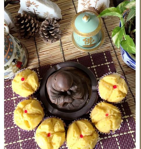 Pumpkin Huat Kuih (金瓜发糕) 29